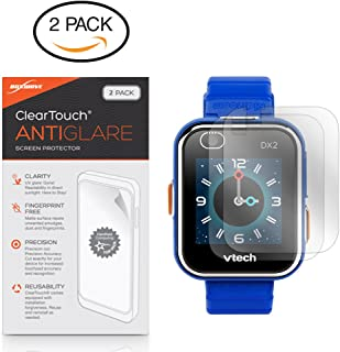 VTech Kidizoom DX2 Screen Protector, BoxWave® [ClearTouch Anti-Glare (2-Pack)] Anti-Fingerprint Matte Film Skin for VTech Kidizoom DX2