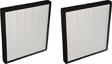 Nispira Replacement HEPA Filter Compatible with Surround Air Intelli-Pro XJ-3800 Air Purifier, 2 Filters