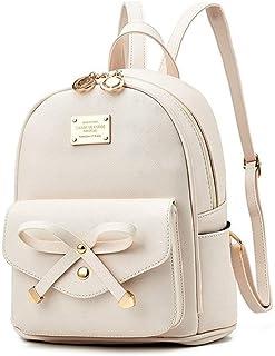 Socutee Women Girls Cute Mini Leather Backpacks Fashion Small Daypacks Purses Shoulder Bag