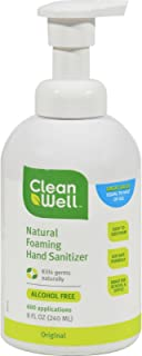 Cleanwell Foaming Hand Sanitizer 8oz by Cleanwell