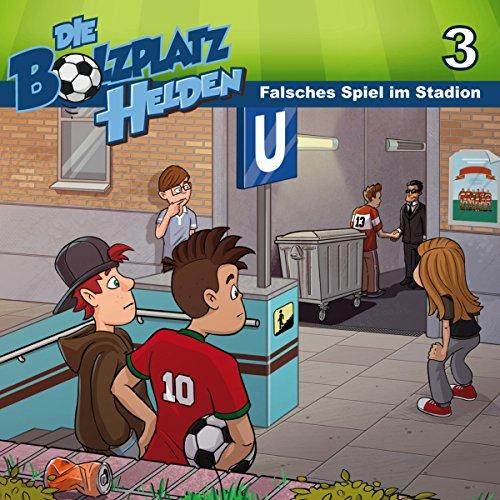 Falsches Spiel im Stadion audiobook cover art