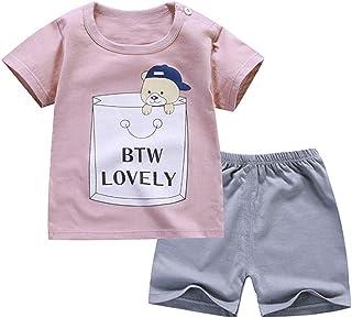 78dd73cd2 FELZ Ropa Bebe Niño Verano Recién Nacido 3 Meses a 5 años Camiseta de Manga  Corta
