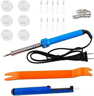 Wadoy X27-168 Instrument Cluster Stepper Gauge Speedometers Motors Repair Kit 6 Motors 10 Backlight Bulbs Solder Sucker Soldering Iron Remove Tool Flux Rosin Core Solder Replace XC5-168 X15-168 X25-16