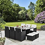 Bella Life 8 Seater Rattan Cube Garden Furniture Set