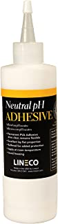 Lineco Neutral pH Adhesive, Acid-Free PVA Formula Water Soluble Dries Clear and Quick Flexible When Dried. 8 Ounces. Ideal...