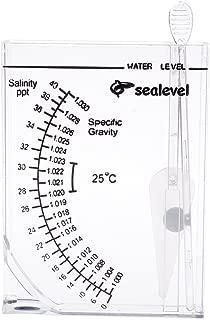 Kocome Marine Hydrometer Reef Fish Tank Aquarium Water Salinity Specific Gravity Tester