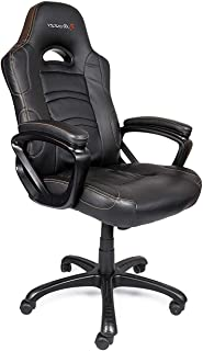 Office Home Furniture Premium Enzo Series Gaming Racing Style Swivel Chair, Black