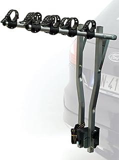 ETC ERR027 Deluxe 4 - Bastidor para bicicletas, Plateado