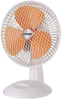 Sonashi 7 Inch Desk Fan - Sf 8008d (orange)