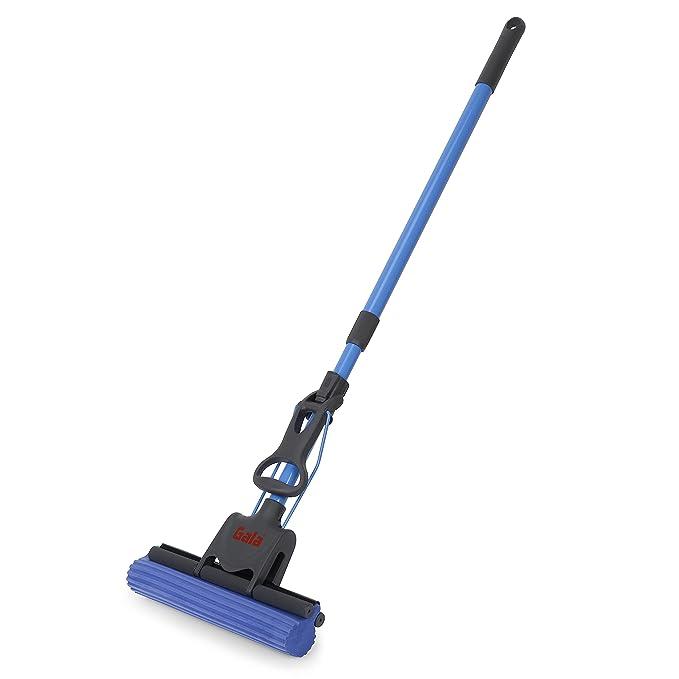 Gala Pva Floor Plastic Mop  Blue  Wet   Dry Mops