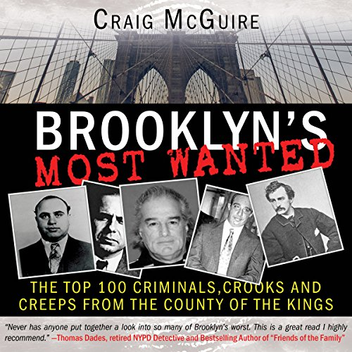 Brooklyn's Most Wanted audiobook cover art