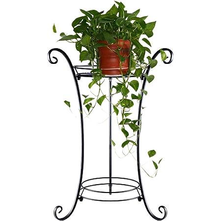 Panacea 89174/Classic Finial Plant Stand 25,4/cm Altezza Nero