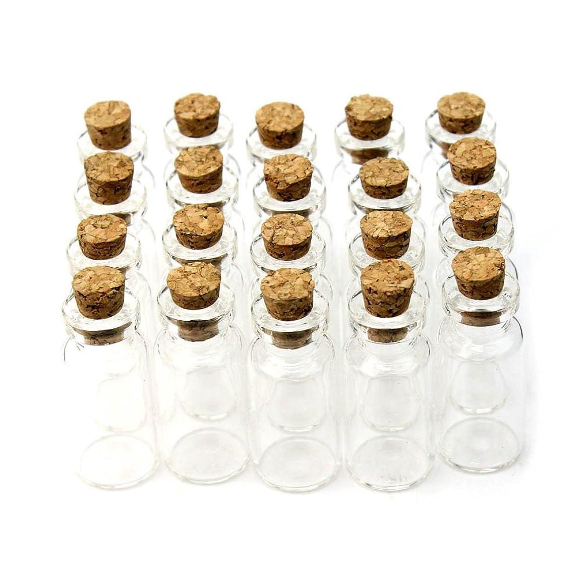値通信網満たすReFaXi 卸売オファー PY 小さなクリアガラス瓶の20個