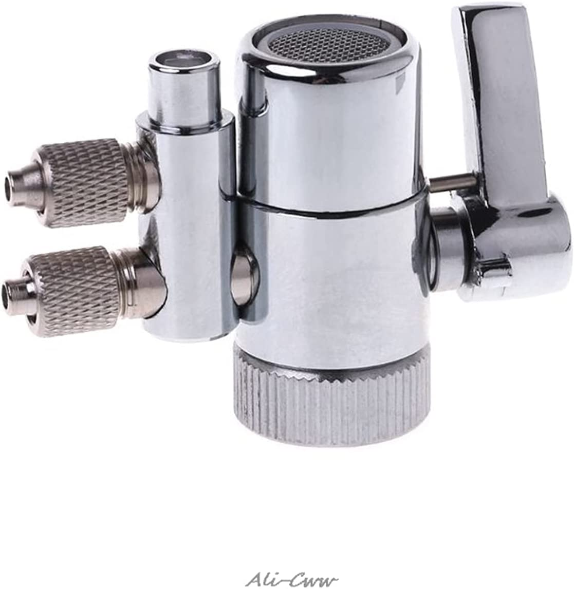 San Jose Mall Chrome Plated Metal Faucet Aerator Diverter for Dual Wat Online limited product Adapter