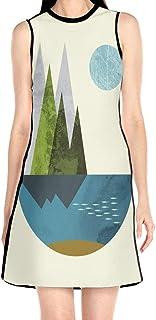 ブラックローズ 自然 アート 花柄ワンピース ワンピース レディース カジュアル 夏物 夏服 スカート おしゃれ 洋服 ファッション 流行る
