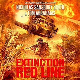 Extinction Red Line     The Extinction Cycle              Written by:                                                                                                                                 Nicholas Sansbury Smith,                                                                                        Tom Abrahams                               Narrated by:                                                                                                                                 Bronson Pinchot                      Length: 8 hrs and 8 mins     2 ratings     Overall 4.5