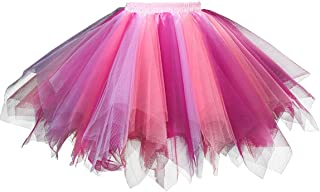 Women's 1950s Vintage Tutu Petticoat Ballet Bubble Skirt (26 Colors)