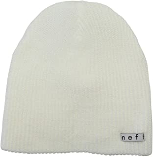 NEFF قبعة يومية باللون الأرجواني الغامق