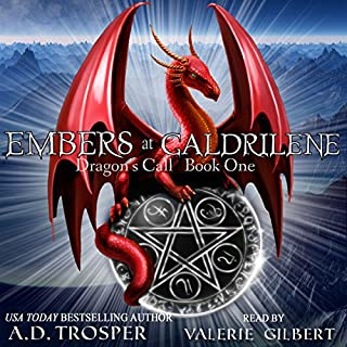 Embers at Galdrilene audiobook cover art