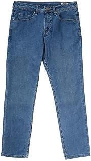 BUFFALO 5 Pocket David Bitton Men's Jackson-X Straight Fit Stretch Denim Jeans Blue 32W x 30L