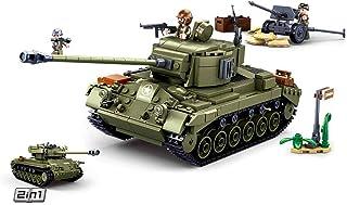 Sluban M38-B0860 Wwii-m261 Pershing Medium Tank 2in1