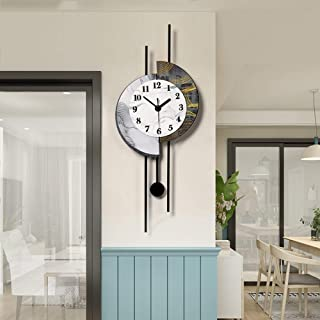 Wall Clock- Acrylic/Personality/Homepage/Clock, Fashion Wall Clock Mute Creative Clock Wall Clock Living Room Bedroom,Deli...