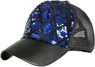 Hat Women Summer Sun Unisex Outdoor Sequins Color Baseball Caps Adjustable Hat3