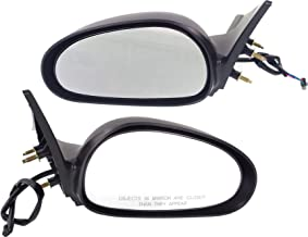 Power Mirror compatible with Ford Mustang 99-04 Right and Left Side Non-Folding Non-Heated Textured Black