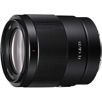 Sony SEL-35F18F Obiettivo a Focale Fissa 35 mm F1.8, Mirrorless Full-Frame, Attacco E, SEL35F18F