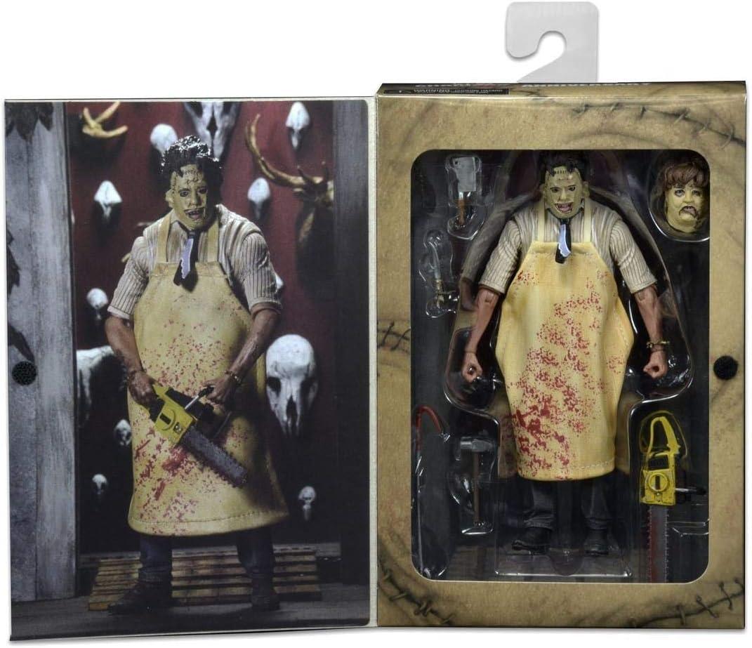 Details Funko POP Texas Chainsaw Massacre Leatherface Action Model Figures Toy D