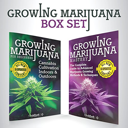 Growing Marijuana: Box Set     Growing Marijuana for Beginners & Advanced Marijuana Growing Techniques              By:                                                                                                                                 ClydeBank Alternative                               Narrated by:                                                                                                                                 Amy Barron Smolinski,                                                                                        Kevin Kollins                      Length: 3 hrs and 18 mins     4 ratings     Overall 4.8