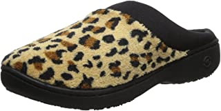 isotoner Women's Classic Microterry Hoodback Slippers