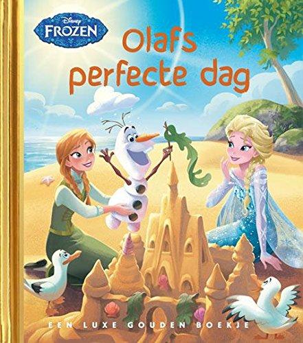 Frozen - Olafs perfecte dag: een luxe gouden boekje