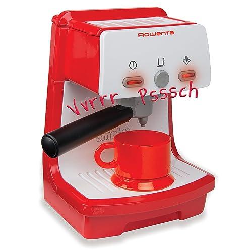 Smoby - 310546 - Jeu d'Imitation - Rowenta Espresso - Accessoires Cuisine - Fonction Son et Lumière