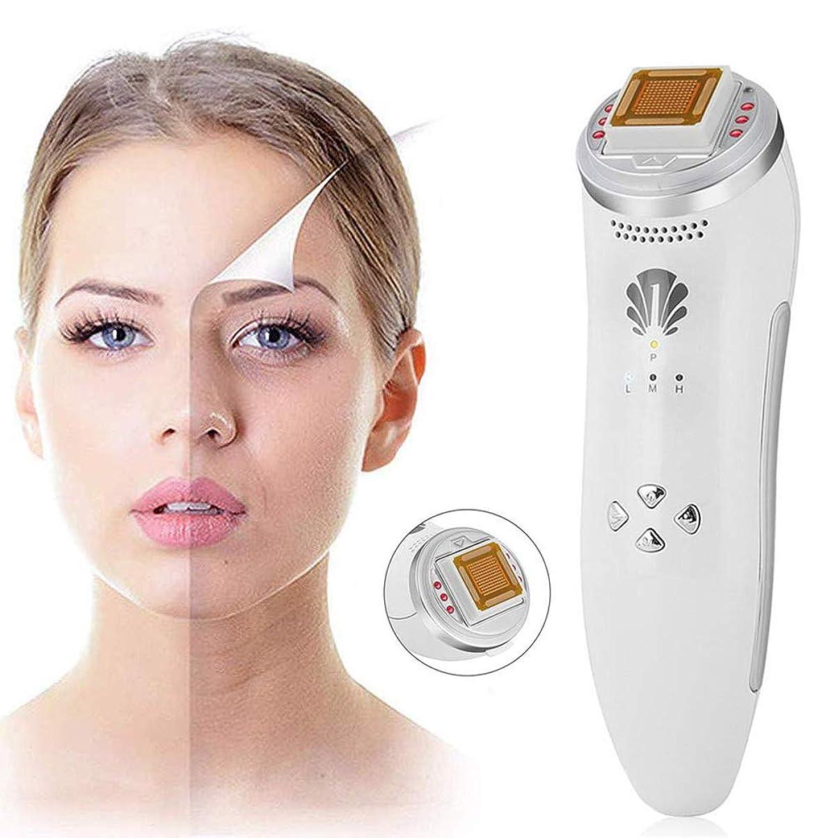 勇敢なリアル小包しわのためのフェイスリフト装置の皮のきつく締まる機械は顔のマッサージャー多機能のスキンケアの美の器械を取除きます