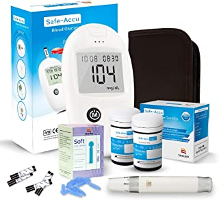 Sinocare kit de prueba de glucosa en sangre Safe-Accu