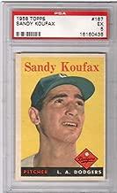 1958 Topps Baseball Roger Maris Rookie Card # 47 PSA 5 Excellent # 01077386