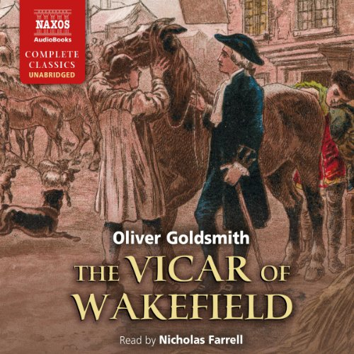 The Vicar of Wakefield audiobook cover art