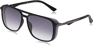 Police Square Men's Sunglasses Black SPL720M (57)