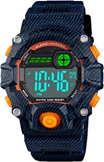 Venhoo Digital Kids Watches Outdoor Sport Waterproof...