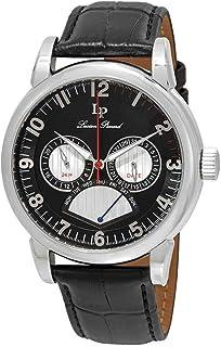 Lucien Piccard Men's LP-15051-01 Analog Display Quartz Black Watch