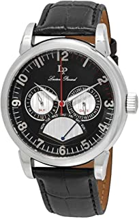 Lucien Piccard Men's LP-15051-01 Analog Display Quartz Black Watch