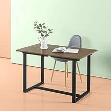 Zinus Alto Rectangular Dining, Office Desk, Computer Table, Quick Snap Bolt & Nut Free Easy Assembly, Award Winning Design, Natural