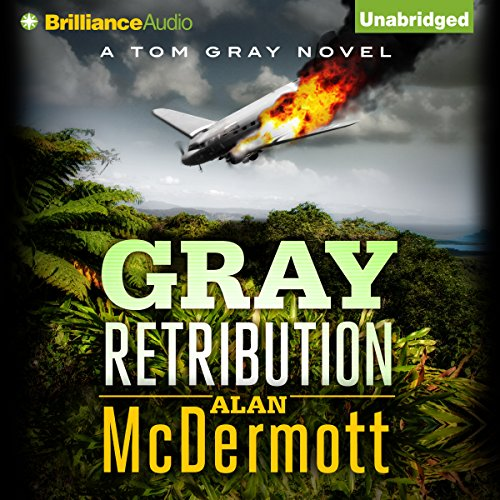 Gray Retribution audiobook cover art