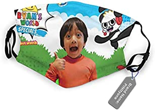 fishappleeatall Outdoor Mond Een Stuk Ryan's Art World Bandana Dtproof Anti-Dt Half Gezicht Cover