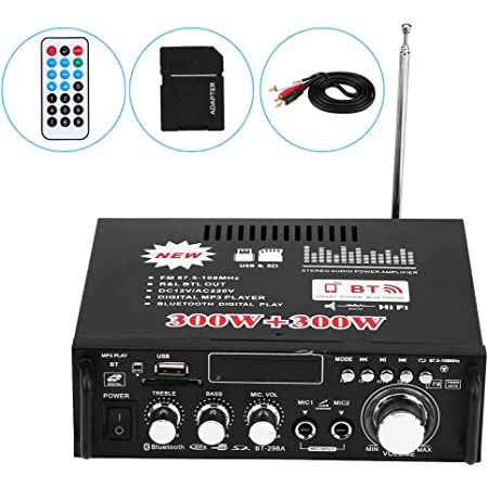 Verstärker  Verstärker MIC Receiver DJ Mixer Home 600W 220V Stereo Amplifier