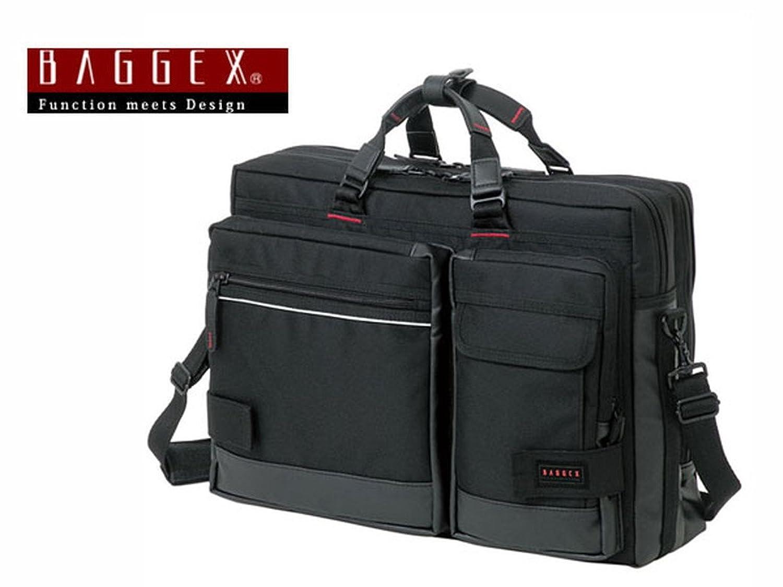 バジェックス BAGGEX 3WAY ビジネスバッグ メンズ 23-5515-10 ブラック