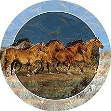 Thirstystone Stoneware Coaster Set, Band of Gold