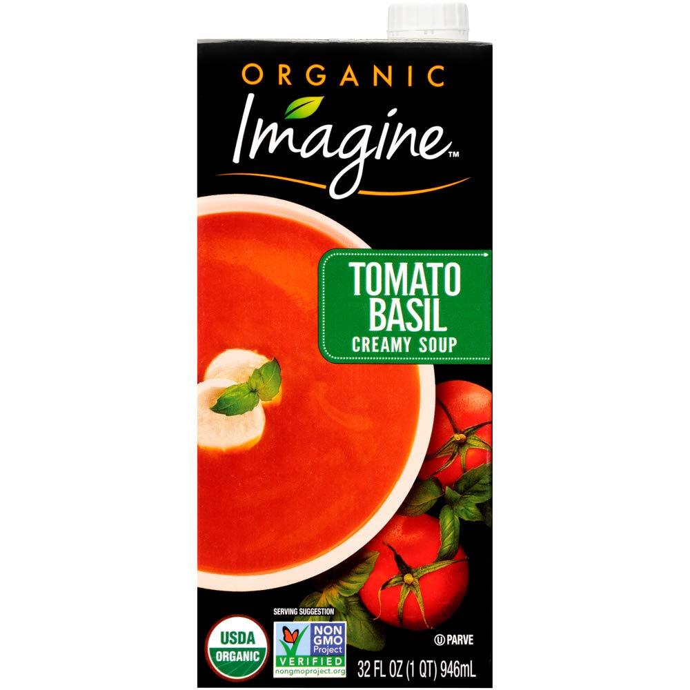 Imagine Organic Creamy Soup Basil 32 Denver Mall Tomato Oz Super-cheap
