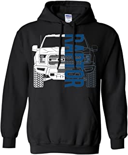 WheelSpinAddict Men's Raptor F-150 F150 Truck Hoodie